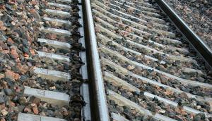 Railroad ties can be used for more than just train rails.