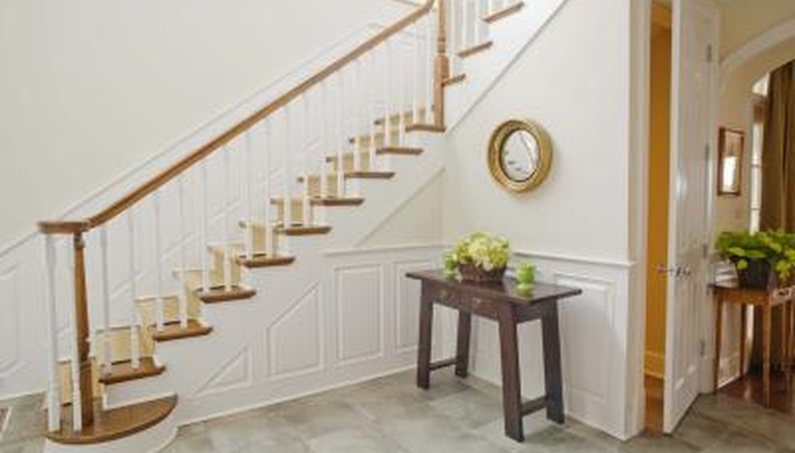 There Are Three Main Parts To Typical Staircase Railings. Newel Posts  Anchor The Railings At The Top And Bottom Of The Stairs.