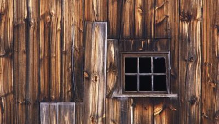 Framing barn windows is usually easier than framing home windows.