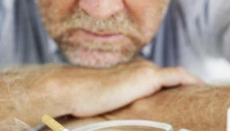 Smoking increases blood carboxyhemoglobin levels.