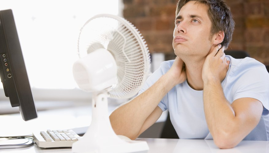 Don't get stuck in front of your fan all day – tips to keep you cool