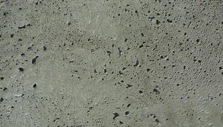 Porous concrete requires sealing at connections.