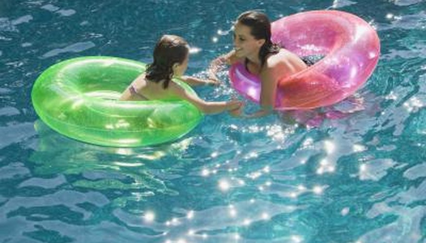 Brown algae spots can make a swimming pool unhealthy for use.