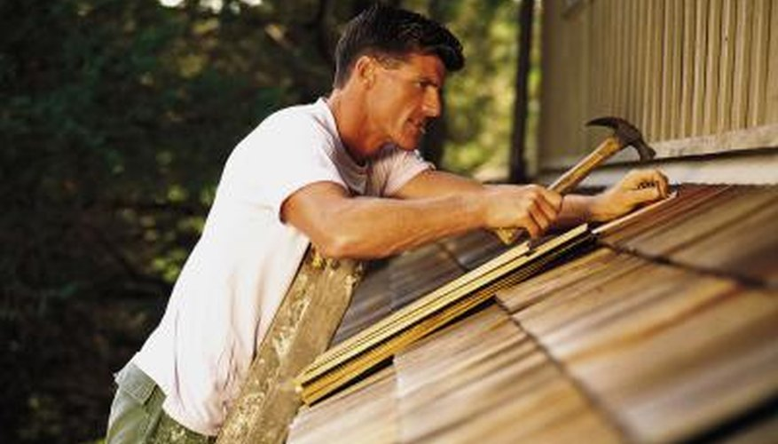 Apply shingles with recommended fasteners.