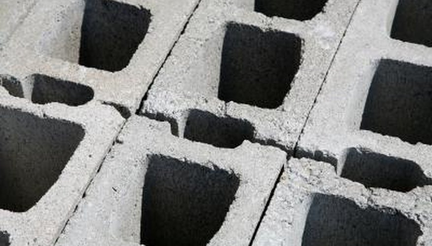 Apply new blocks correctly to extend existing concrete block walls.