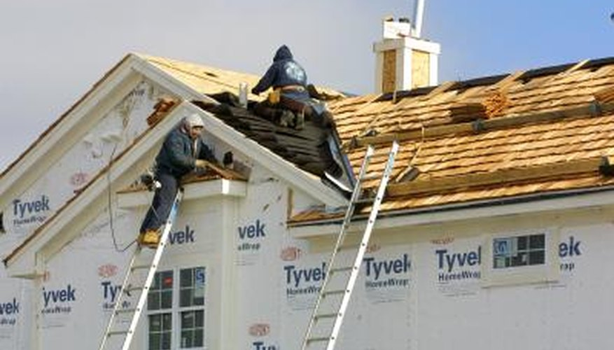 Tyvek is most often used to wrap the exterior of buildings, but can also serve as a vapor barrier in attic and basement ceilings.
