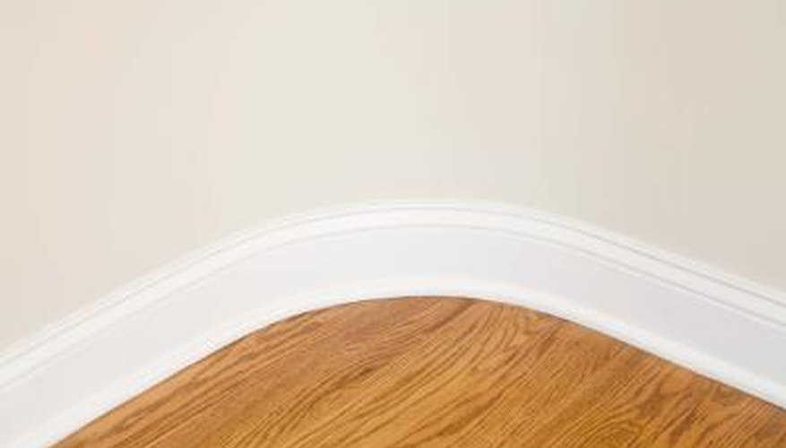 Keep your wood beautiful after painting by cleaning up any latex spatter.