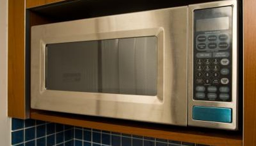 Microwave oven trim makes the microwave installation look professional.