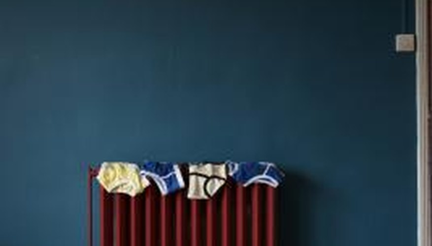 Give a radiator new life with a fresh coat of paint.