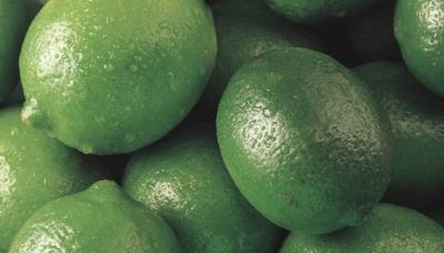 There are seven types of limes.