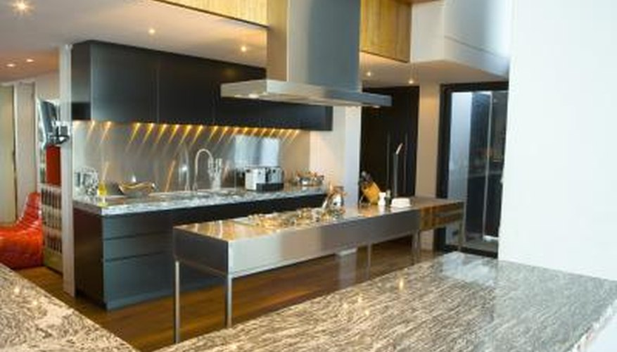 Granite and other natural countertops are usually more expensive than Formica.