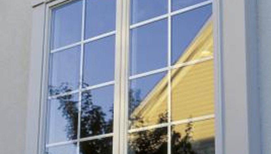 A thermal window seal deteriorates from the effects of extreme heat and cold.