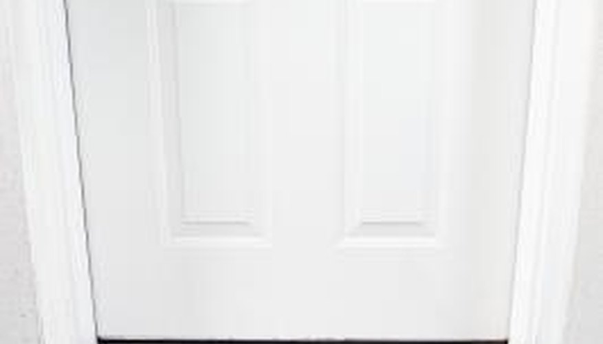 A well-sealed door will help you better regulate the temperature in your home.