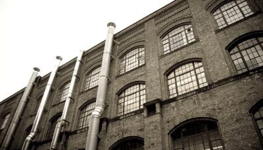 The conversion of old factories to contemporary use presents an opportunity to work with restored brick and shingle exteriors