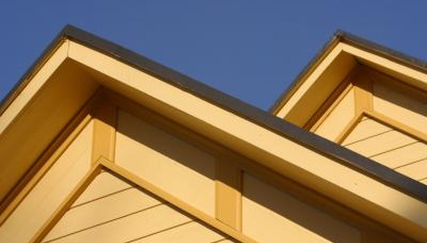 Fascia boards are of vertical boards at the roof edge.
