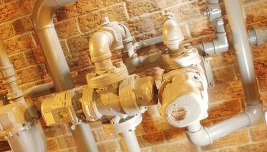 Plumbing tools are used to fix existing pipes, declog pipes and install new plumbing.