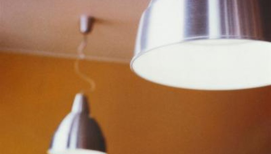 Remove light fixtures to clean them.