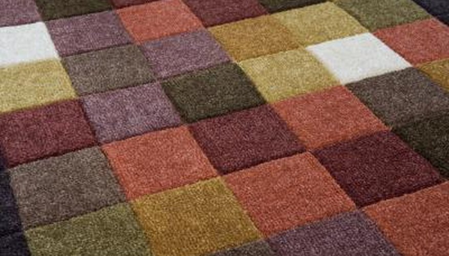 A section of high-end carpet costs $45 per square yard but should last between 12-15 years