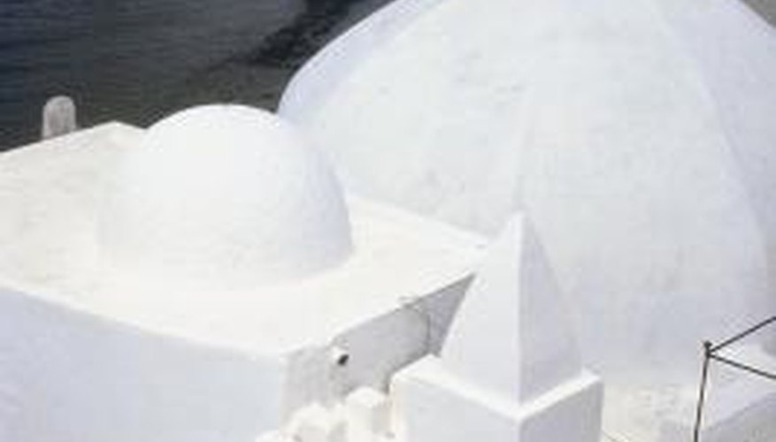White roofs are particularly helpful in hot climates.