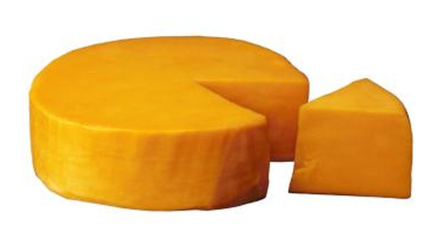 Age improves the flavor of Cheddar cheese.