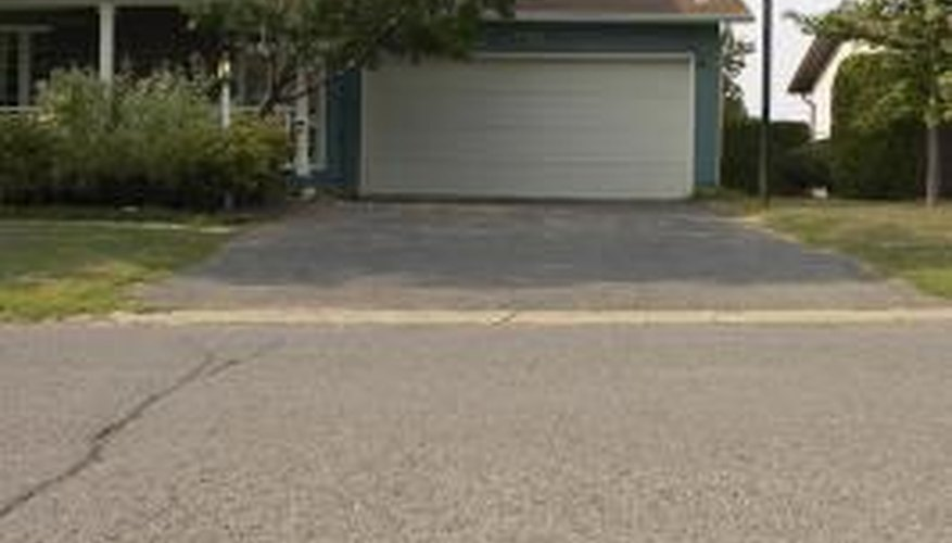 Sealants help keep your driveway free of cracks.