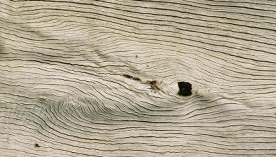 Driftwood makes for an interesting finish for hardwood floors.