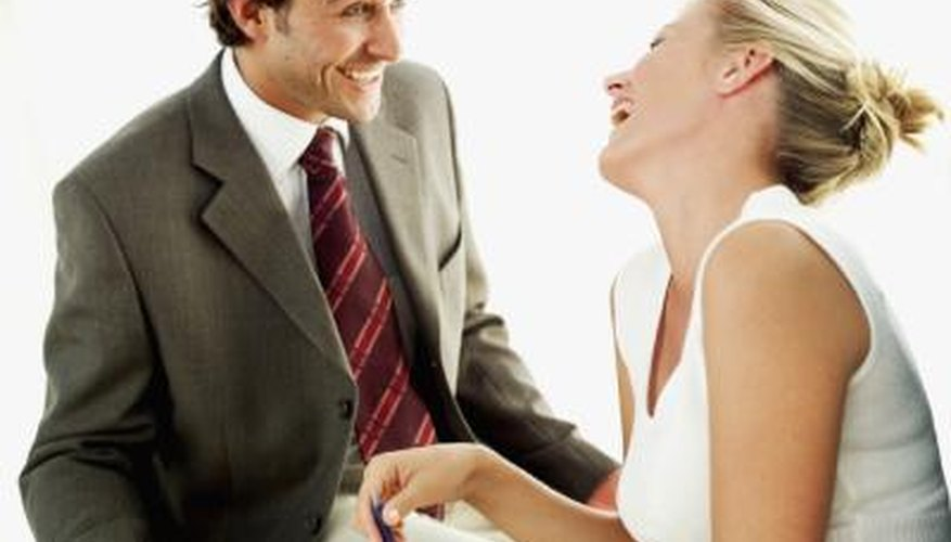 Signs a Man Is Attracted to You at the Workplace | Dating Tips