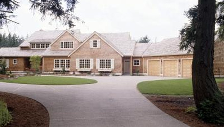 Maintain a good relationship with your neighbors by negotiating the division of a shared driveway.