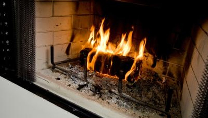 how to replace firebrick panels in a fireplace homesteady. Black Bedroom Furniture Sets. Home Design Ideas