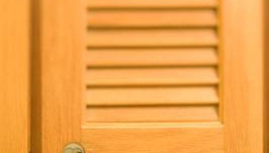 How to Fix Slats in Louvered Doors | HomeSteady