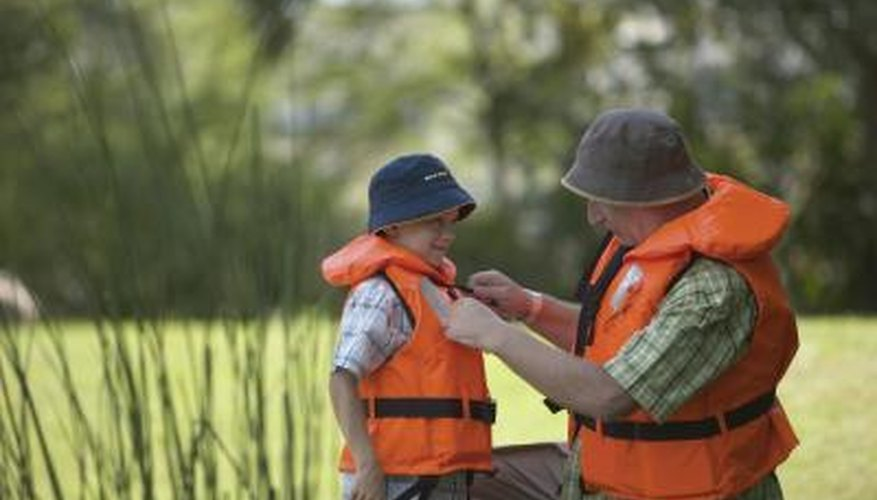 How to Clean Mildew from a Life Jacket