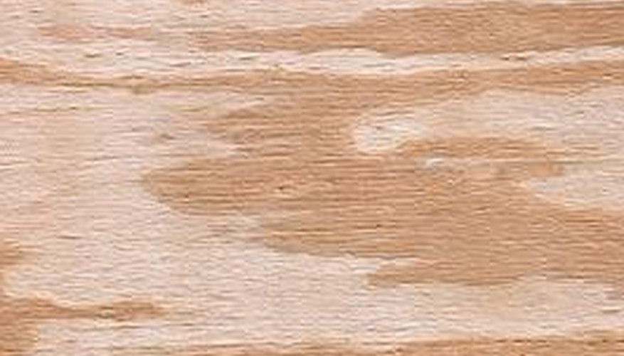 Plywood soffits are easy to work with, but susceptible to water damage.