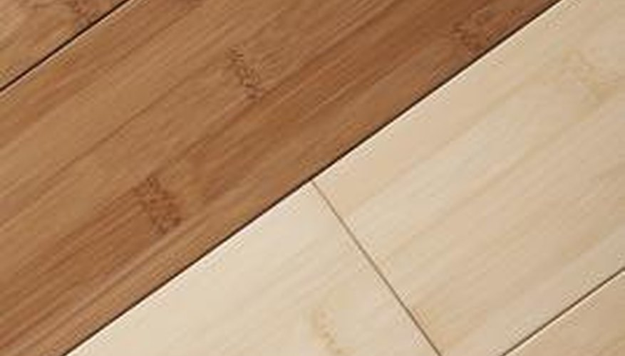 how to fix scratchrs bamboo flooring