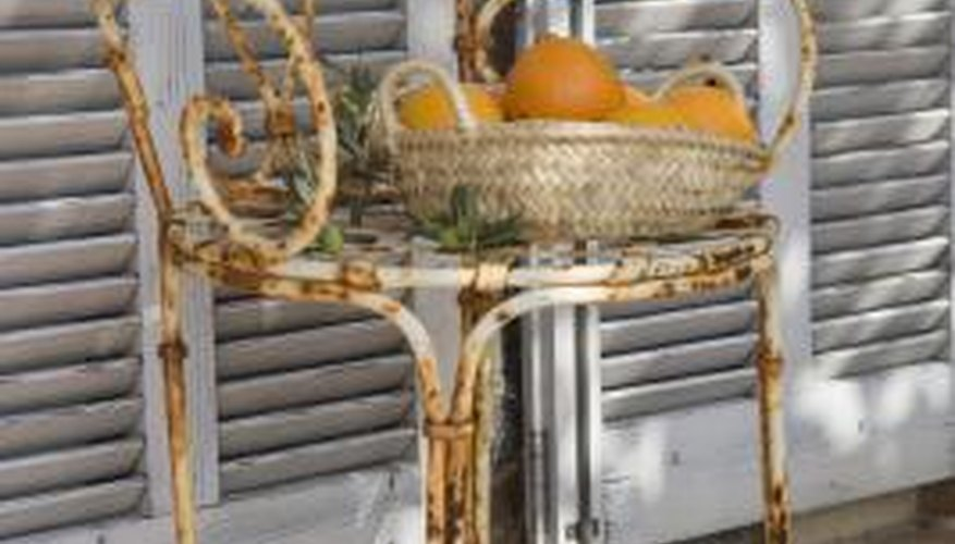 Your outdoor metal furniture is subject to corrosion if you choose aluminum.