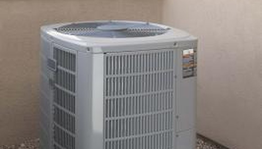 Heat pumps use capacitors to run their fan motors and compressors.