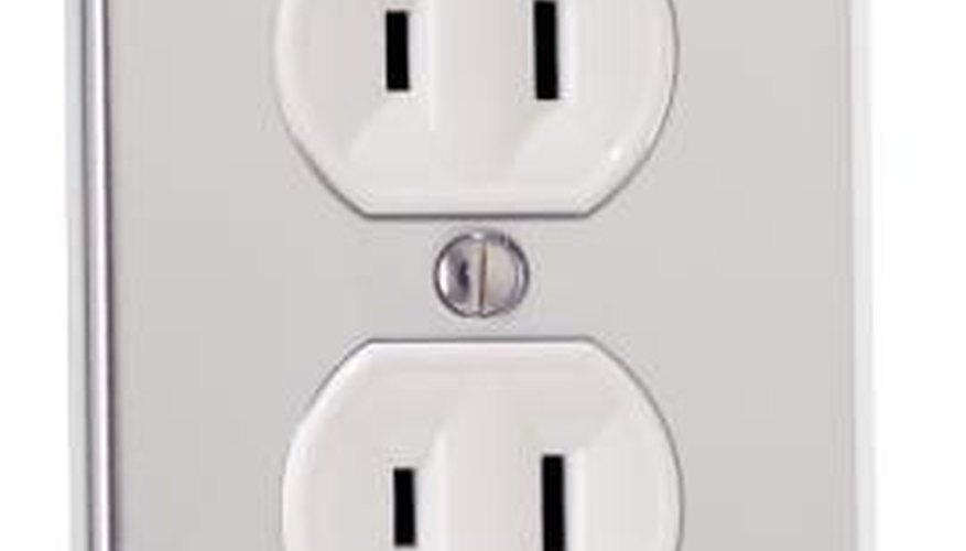 Place electrical outlets about six feet apart in each room.