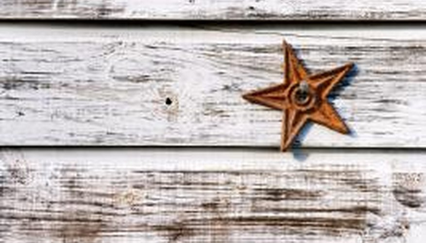A whitewash can add weathered beauty to wood.