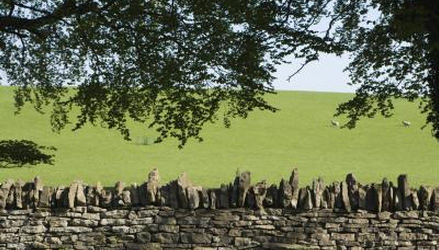Hadrian's wall shows that a stone wall can endure for even millennia.