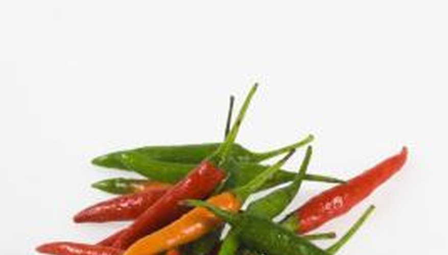 To grow best, hot peppers need a low-nitrogen fertilizer with a magnesium boost.