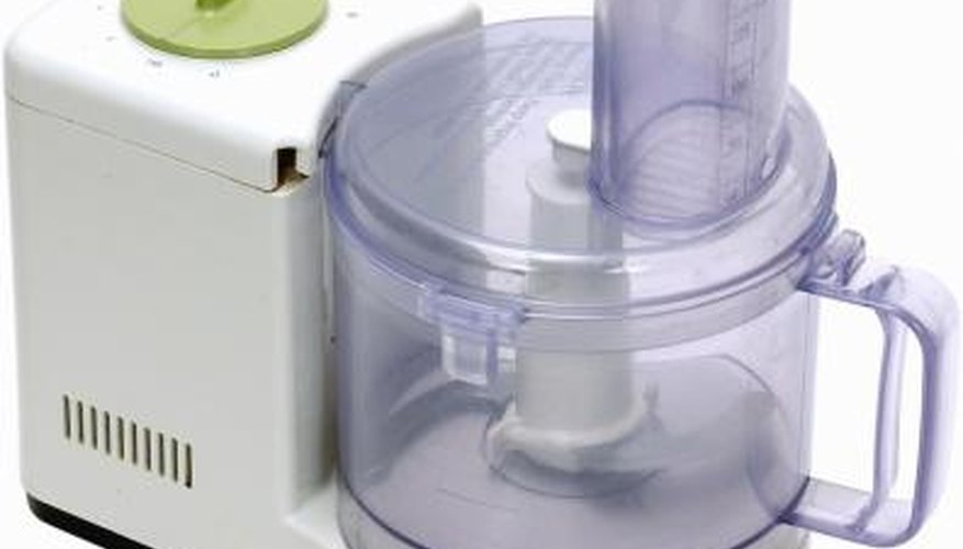 Use a food processor for fun crafts and foods.