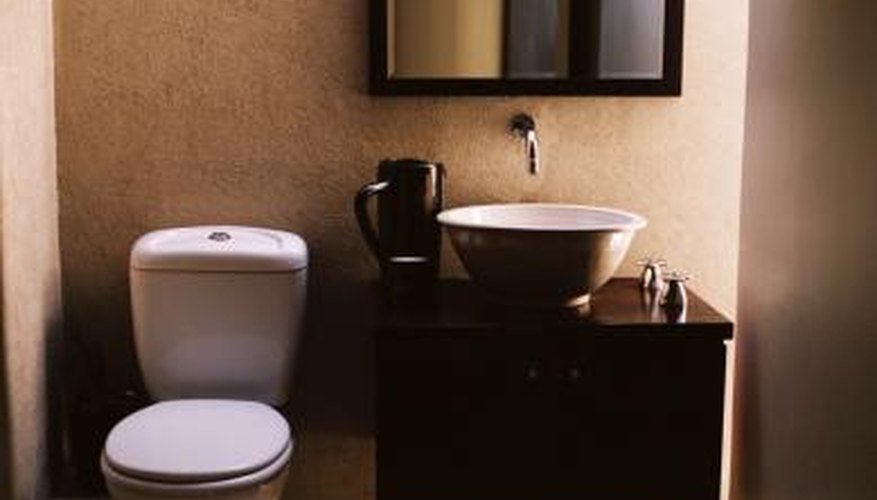 Flammable materials can cause toilets to explode.
