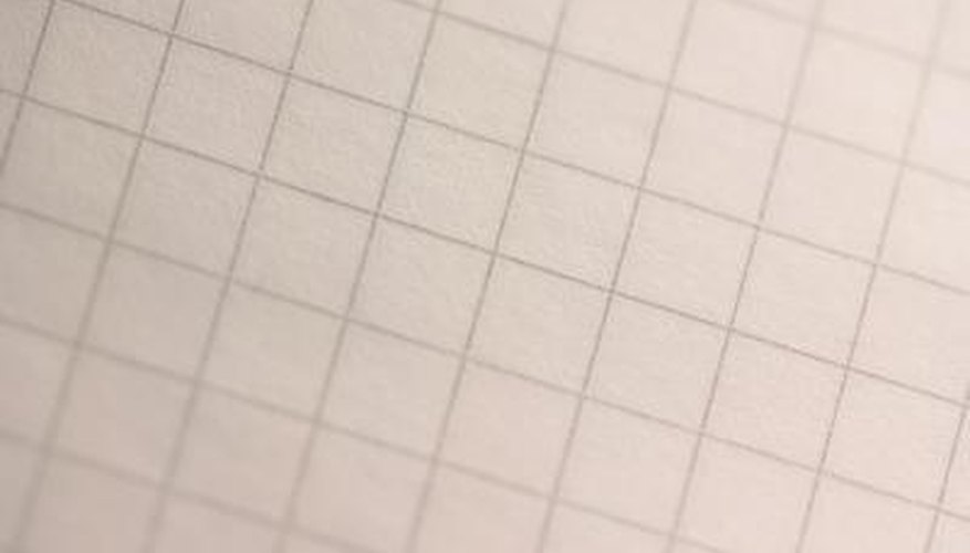 Grid paper helps break proportions down to a smaller scale.