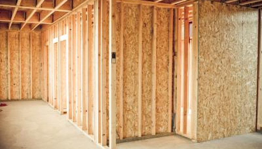 Fasten wall framing together where the studs meet.