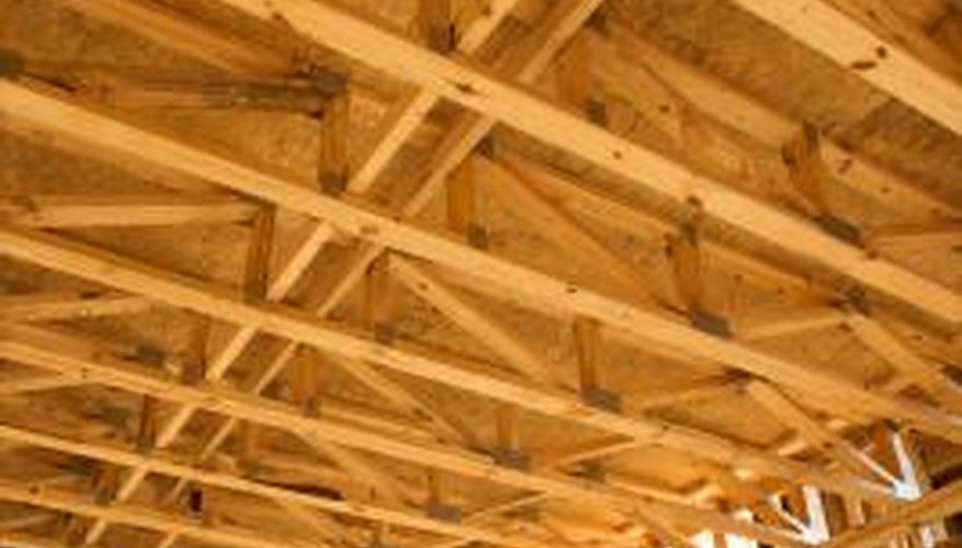 Inspect the beams in your home to look for signs of damage.