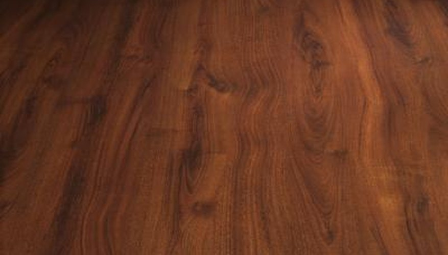 Dark cherry wood pairs well with lighter shades of brown.