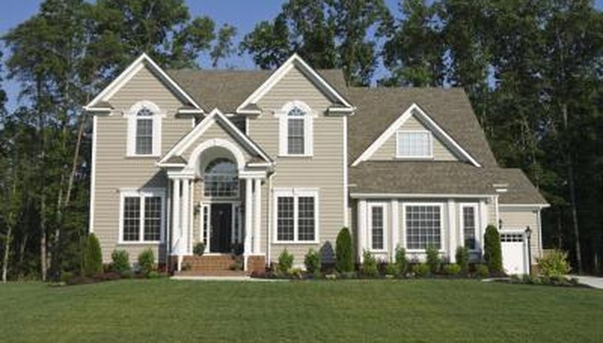Light-colored siding tends to fade less than darker colors.