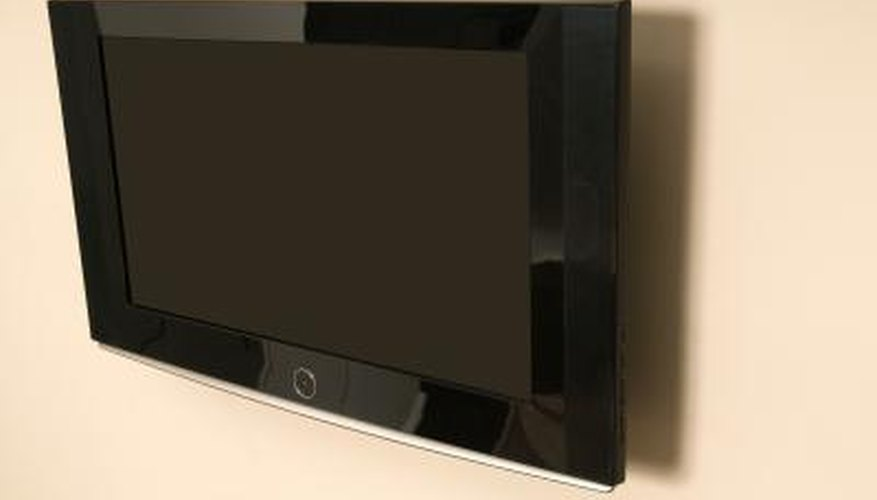 You can install a flat-screen TV just about anywhere.