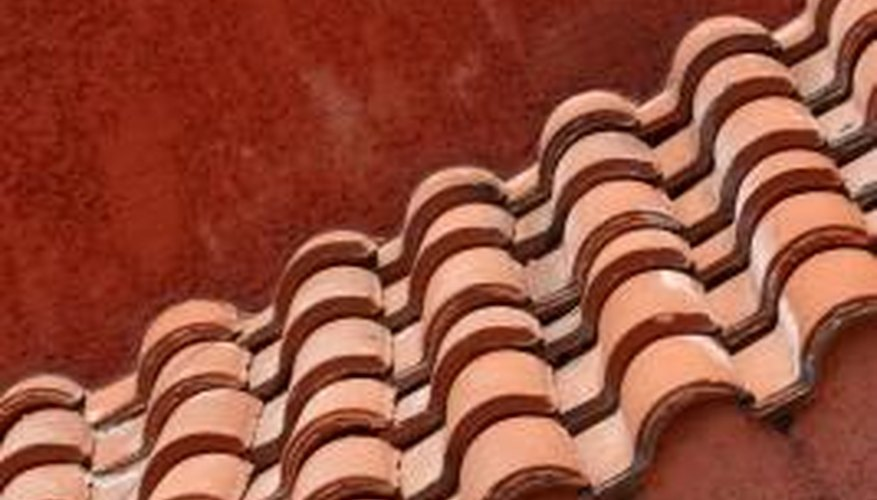 You may be able to use concrete or fiber cement tiles instead of clay.
