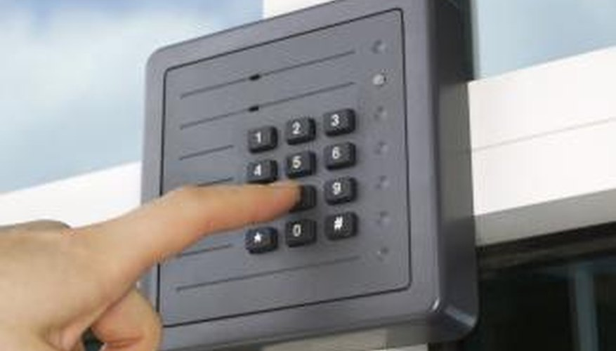 Install an ADT door sensor to help protect you from intruders.