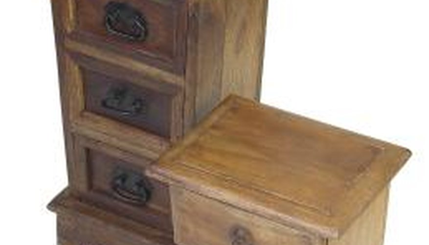 You may notice flaws if you repair or refinish furniture.